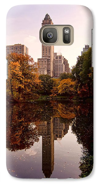 Galaxy Case featuring the photograph Central Park by Michael Dorn