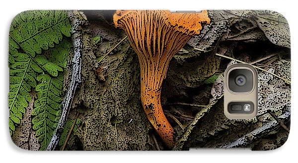 Galaxy Case featuring the photograph Chanterelle by Michael Friedman