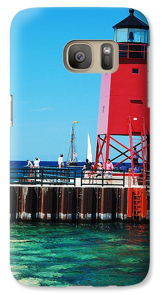 Galaxy Case featuring the photograph Charlevoix Light by Janice Adomeit