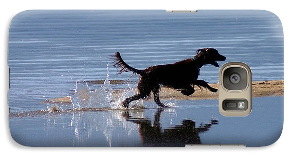 Galaxy Case featuring the photograph Chasing Reflections by Mitch Shindelbower