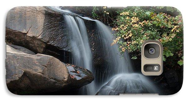 Galaxy Case featuring the photograph Chau-ram Falls by Lynne Jenkins