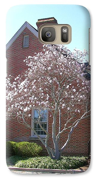 Galaxy Case featuring the photograph Cherry Blossom by Pamela Hyde Wilson