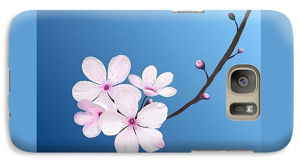Galaxy Case featuring the painting Cherry Blossoms by Rand Herron