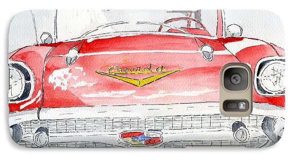 Galaxy Case featuring the painting Chevrolet by Eva Ason
