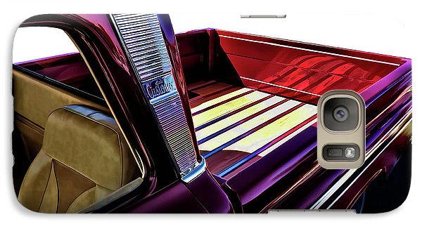 Truck Galaxy S7 Case - Chevy Custom Truckbed by Douglas Pittman