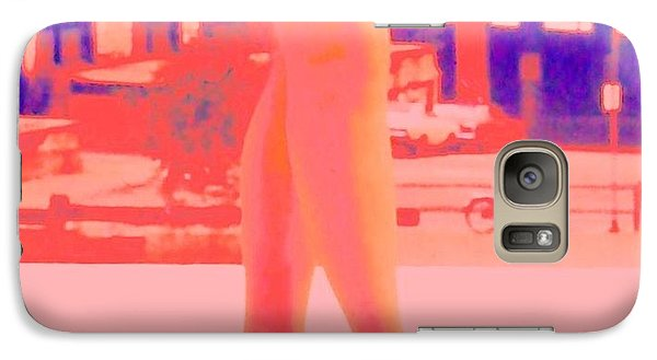 Galaxy Case featuring the photograph Chicago Vintage Chic by Ann Johndro-Collins