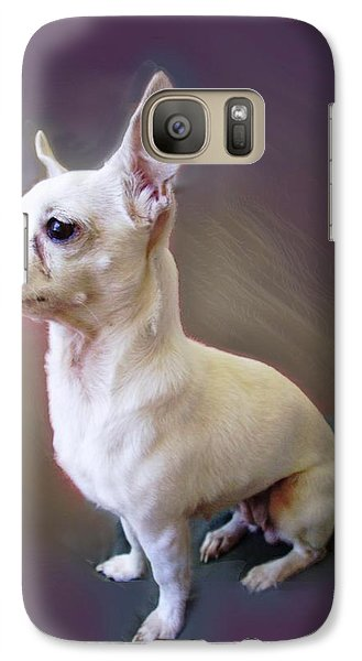 Galaxy Case featuring the photograph Chichi by Ginny Schmidt