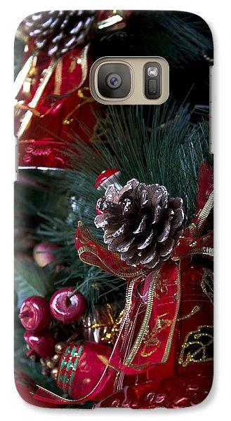 Galaxy Case featuring the photograph Christmas Bells by Ivete Basso Photography