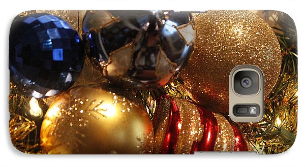 Galaxy Case featuring the photograph Christmas Bulbs by Ivete Basso Photography