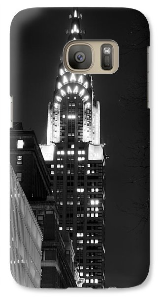Galaxy Case featuring the photograph Chrysler Building by Michael Dorn