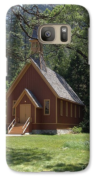 Galaxy Case featuring the photograph Church In The Vale by Jim McCain