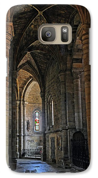 Galaxy Case featuring the photograph Church Passageway Provence France by Dave Mills