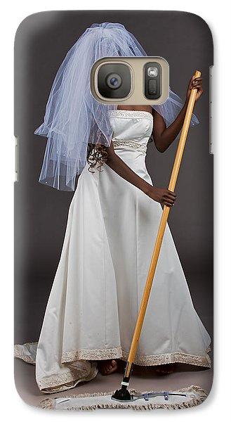 Galaxy Case featuring the photograph Cinderella Bride by Jim Boardman