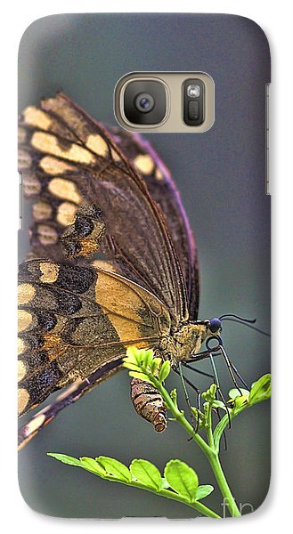 Galaxy Case featuring the photograph Circle Of Life by Anne Rodkin