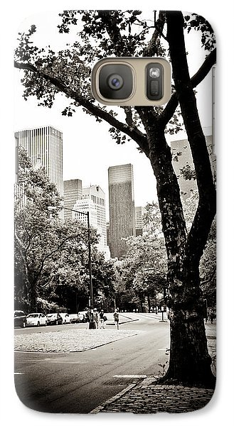 Galaxy Case featuring the photograph City Contrast by Sara Frank
