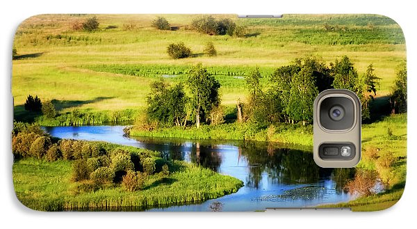 Galaxy Case featuring the photograph Clark Fork Delta  by Albert Seger