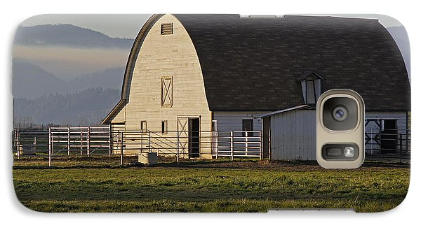 Galaxy Case featuring the photograph Classic Barn Near Grants Pass by Mick Anderson