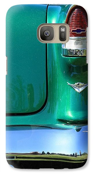 Galaxy Case featuring the photograph Classic Chevy by Tyra  OBryant
