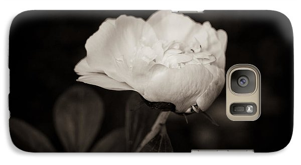 Galaxy Case featuring the photograph Classic Peony by Sara Frank