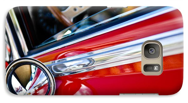 Galaxy Case featuring the photograph Classic Red Car Artwork by Shane Kelly