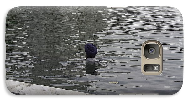 Galaxy Case featuring the photograph Cleaning The Sarovar In The Golden Temple by Ashish Agarwal