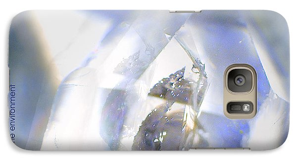 Galaxy Case featuring the photograph Clear White Vision by Vicki Ferrari