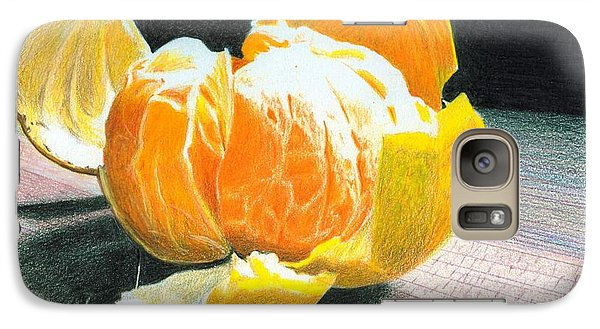 Galaxy Case featuring the painting Clementine by Ana Tirolese