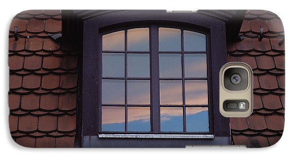 Galaxy Case featuring the photograph Cloud Reflections by Brent L Ander
