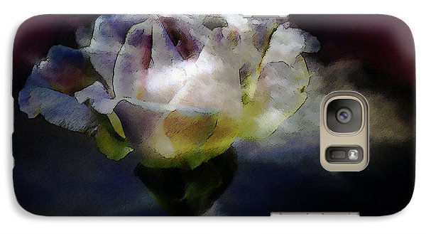 Galaxy Case featuring the photograph Cloud Rose Painterly by Clayton Bruster