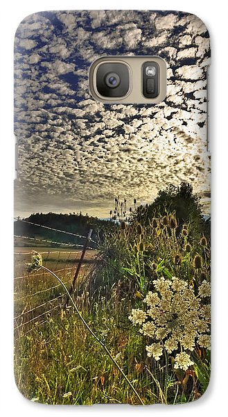 Galaxy Case featuring the photograph Clouds Gone Wild by Tyra  OBryant