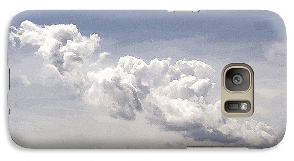 Galaxy Case featuring the photograph Clouds Over The Bay by Michael Friedman