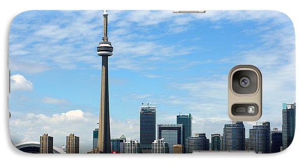 Galaxy Case featuring the photograph Cn Tower by Jeff Ross