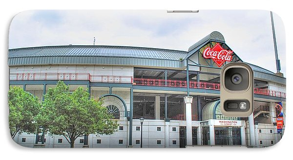 Galaxy Case featuring the photograph Coca Cola Field  by Michael Frank Jr