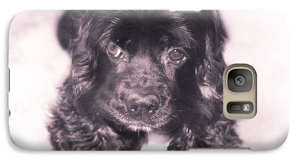 Galaxy Case featuring the photograph Cocker Spaniel by Janie Johnson