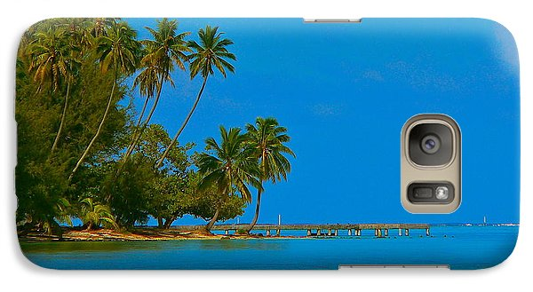 Galaxy Case featuring the photograph Coconuts Anyone by Eric Tressler