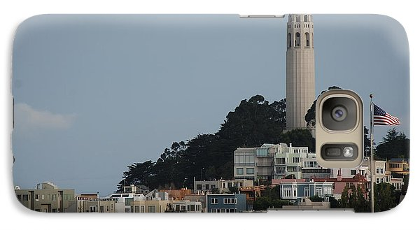 Galaxy Case featuring the photograph Coit Tower by Eric Tressler