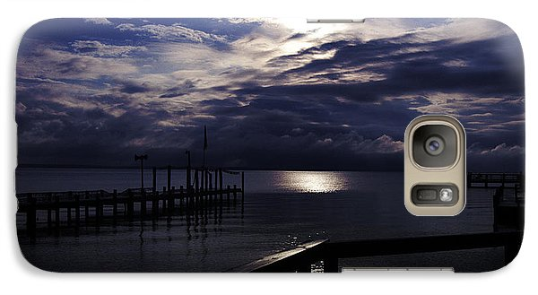 Galaxy Case featuring the photograph Cold Night On The Water by Clayton Bruster