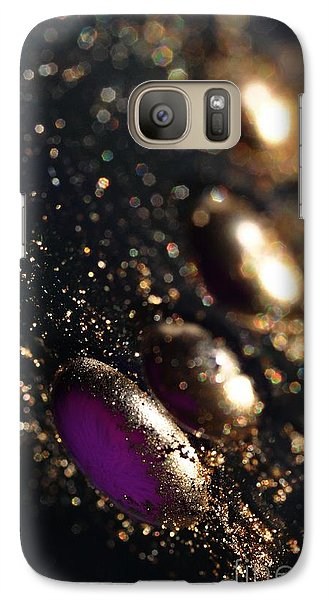 Galaxy Case featuring the photograph Color Drops by Sylvie Leandre