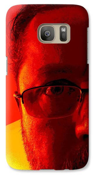 Galaxy Case featuring the photograph Color Me Bad by Jeff Iverson