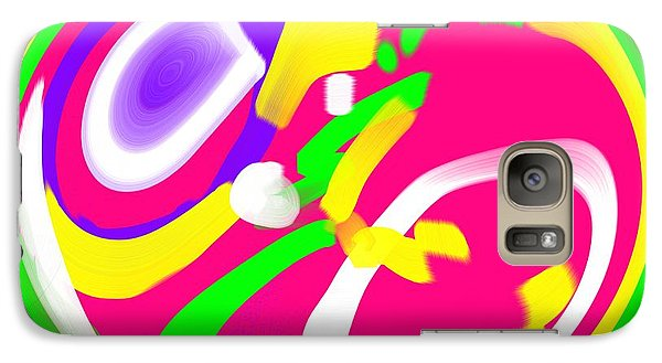 Galaxy Case featuring the digital art Color Roundup by George Pedro