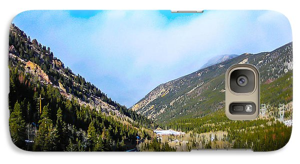 Galaxy Case featuring the photograph Colorado Road by Shannon Harrington