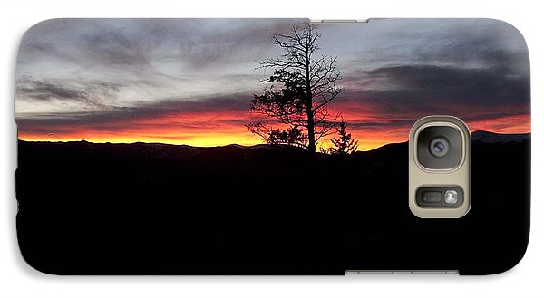 Galaxy Case featuring the photograph Colorado Sunset by Angelique Olin