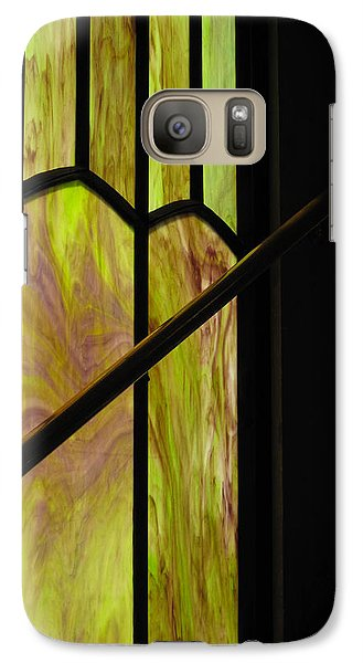 Galaxy Case featuring the photograph Colored Glass by Cheryl Perin