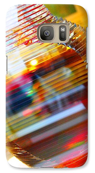 Galaxy Case featuring the painting Colored Vase At The Mayo Clinic by Laura  Grisham