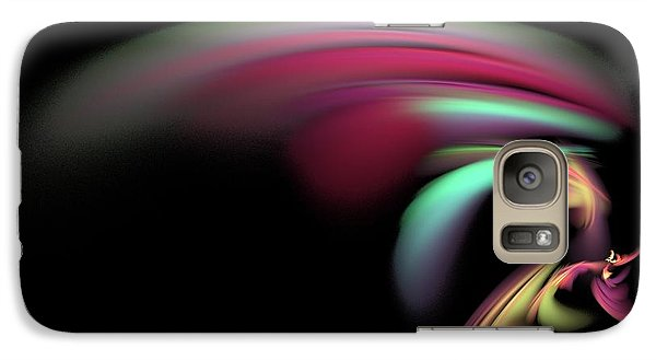 Galaxy Case featuring the digital art Colorful Flash by Ester  Rogers