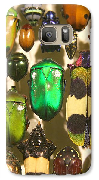 Galaxy Case featuring the photograph Colorful Insects by Brooke T Ryan