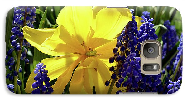 Galaxy Case featuring the photograph Colors Of Spring by Pravine Chester