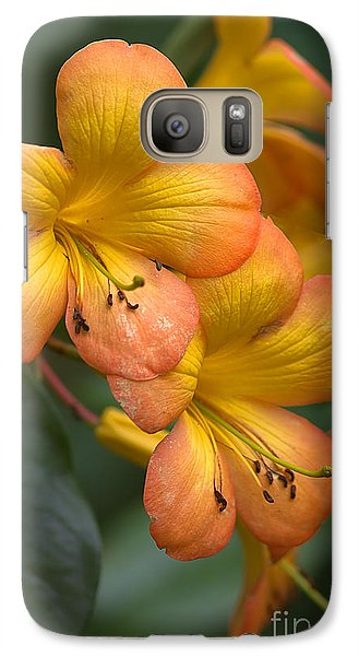 Galaxy Case featuring the photograph Colors Of The Sunset Sky by Anne Rodkin