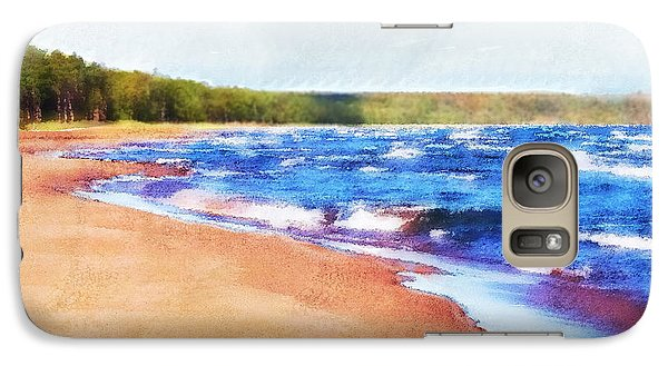 Galaxy Case featuring the photograph Colors Of Water by Phil Perkins