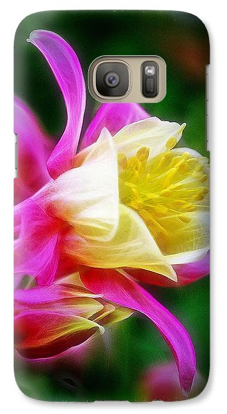 Galaxy Case featuring the photograph Columbine by Judi Bagwell